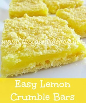 Ingredient Lemon Bars With Yellow Cake Mix