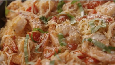Best Bruschetta Shrimp Pasta Jen Copy Me That