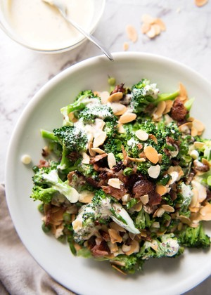 Broccoli Salad with Sour Cream Dressing | Todds Kitchen | Copy Me That