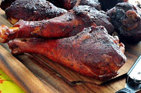 Image result for smoked turkey legs
