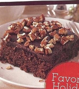Faith Hill Chocolate Cola Cake