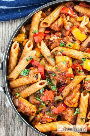 Instant Pot Chicken Fajita Pasta Annette Leverich Heidenreich Copy Me That