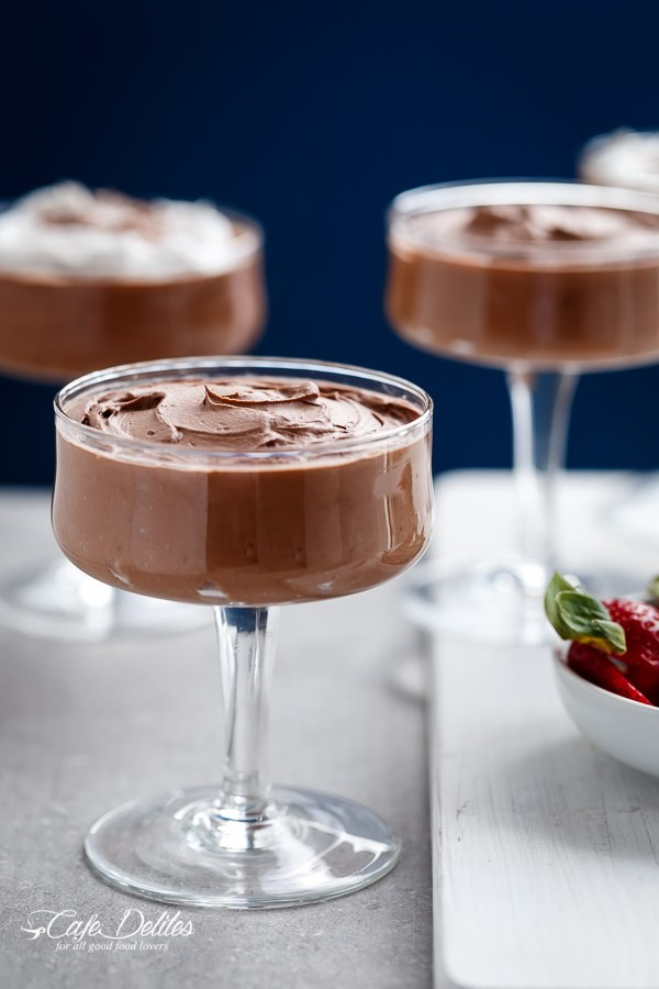 3 ingredient double chocolate mousse low carb laura cuellar copy me that. Black Bedroom Furniture Sets. Home Design Ideas
