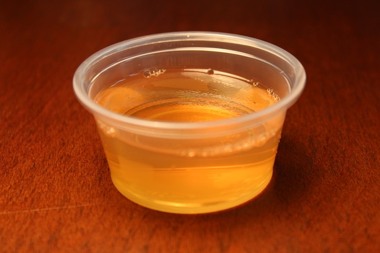 Apple Cider Jello Shots With Fireball Whisky Rjr Copy Me That