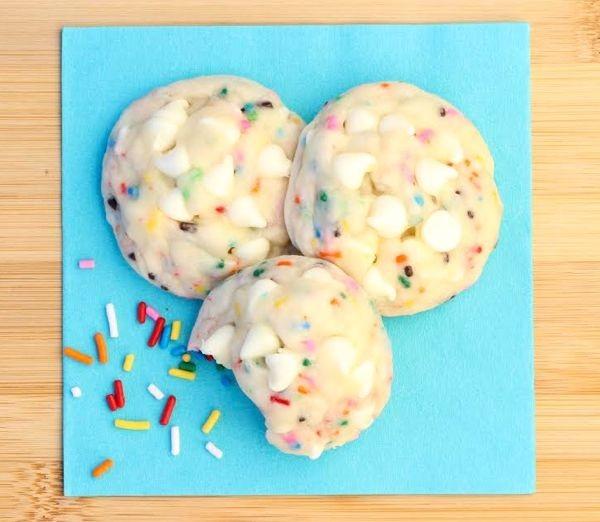 Birthday Cake Mix Cookies Just 5 Ingredients 2fast4u Copy Me