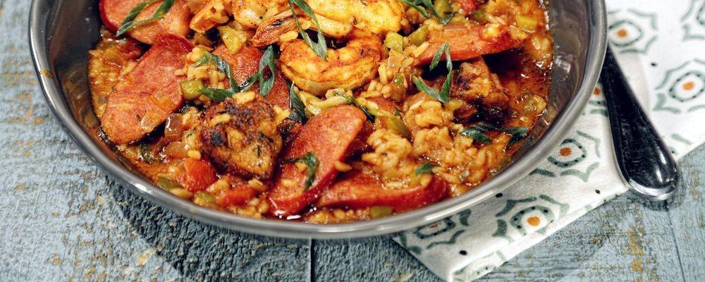 Cajun jambalaya recipe by mario batali jodean seniuk copy me that forumfinder Image collections