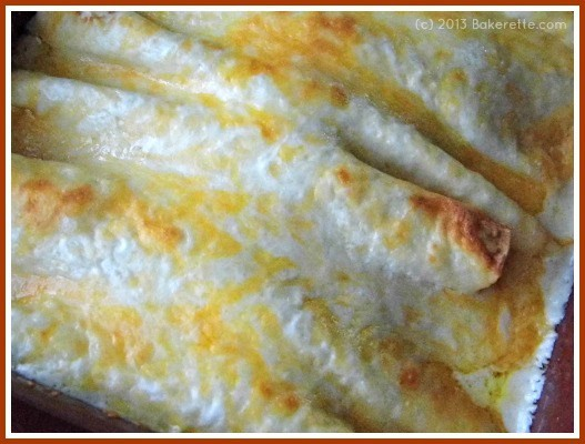Chicken Enchiladas With White Sauce Rachelle S Recipes Collection