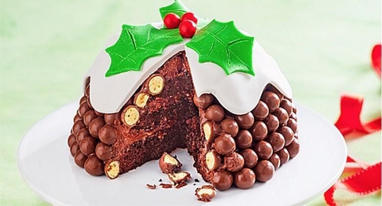 Chocolate Malteser Christmas Pudding Merylb Copy Me That
