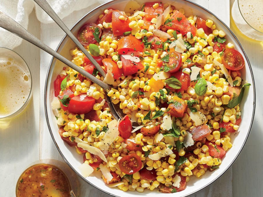 Corn Tomato And Basil Salad Jena Culver Copy Me That