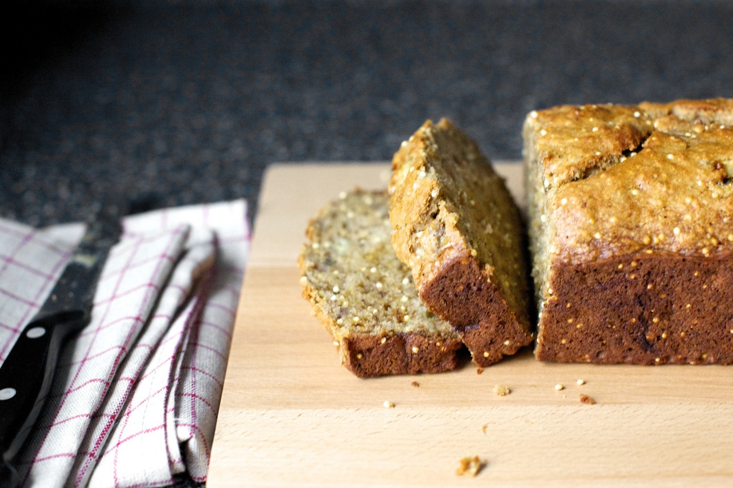 Crackly Banana Bread by Smitten Kitchen | tiinatown | Copy Me That