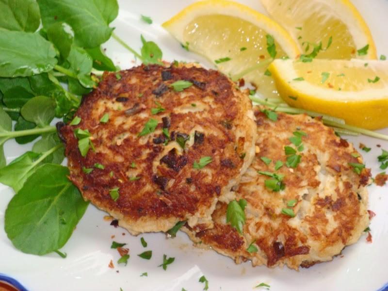 Crab Cake Recipe Low Calorie: Crispy Flourless Crab Cakes