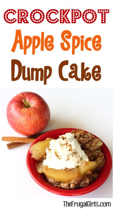 Crock Pot Apple Spice Dump Cake
