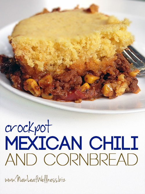 Crockpot Mexican Chili With Cornbread Topping Margie Copy Me That