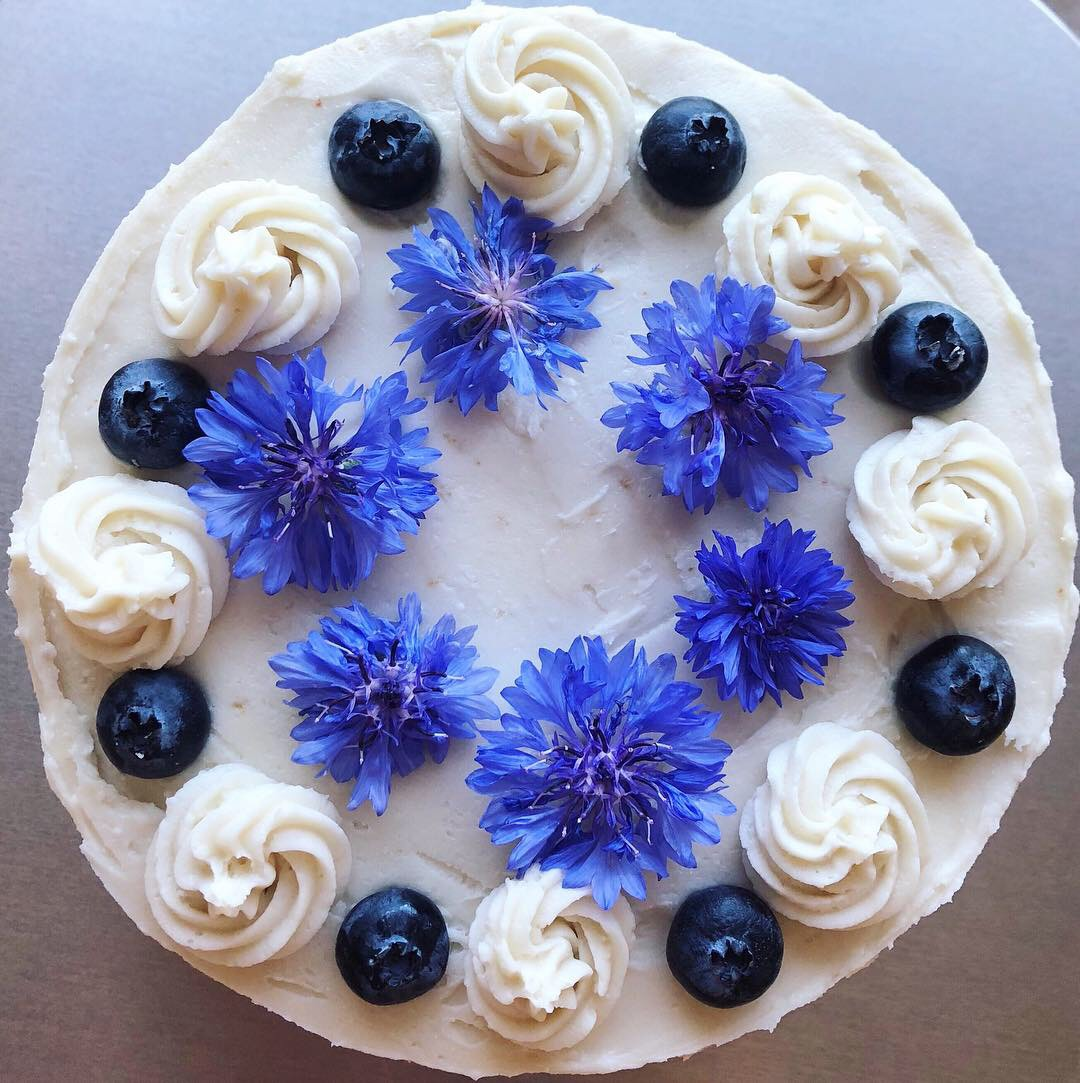 Emmys Lemony Blueberry Birthday Cake Tbaxter Copy Me That