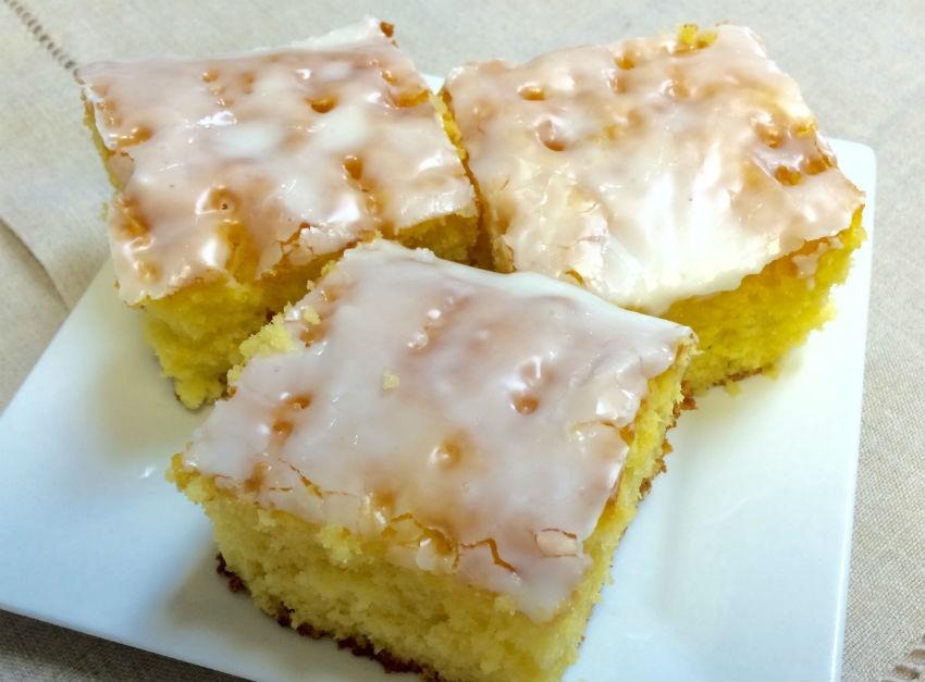 Lemon Jello Cake Recipe Poke: Glazed Lemon Jello Cake