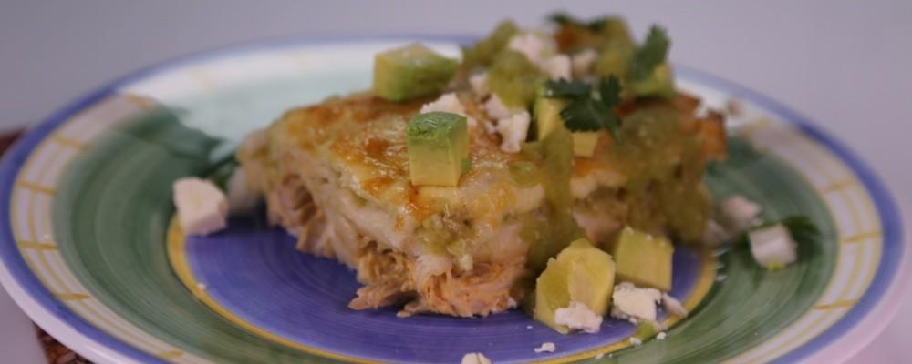 Green Chile Chicken Enchiladas Recipe By Michael Symon John Reese