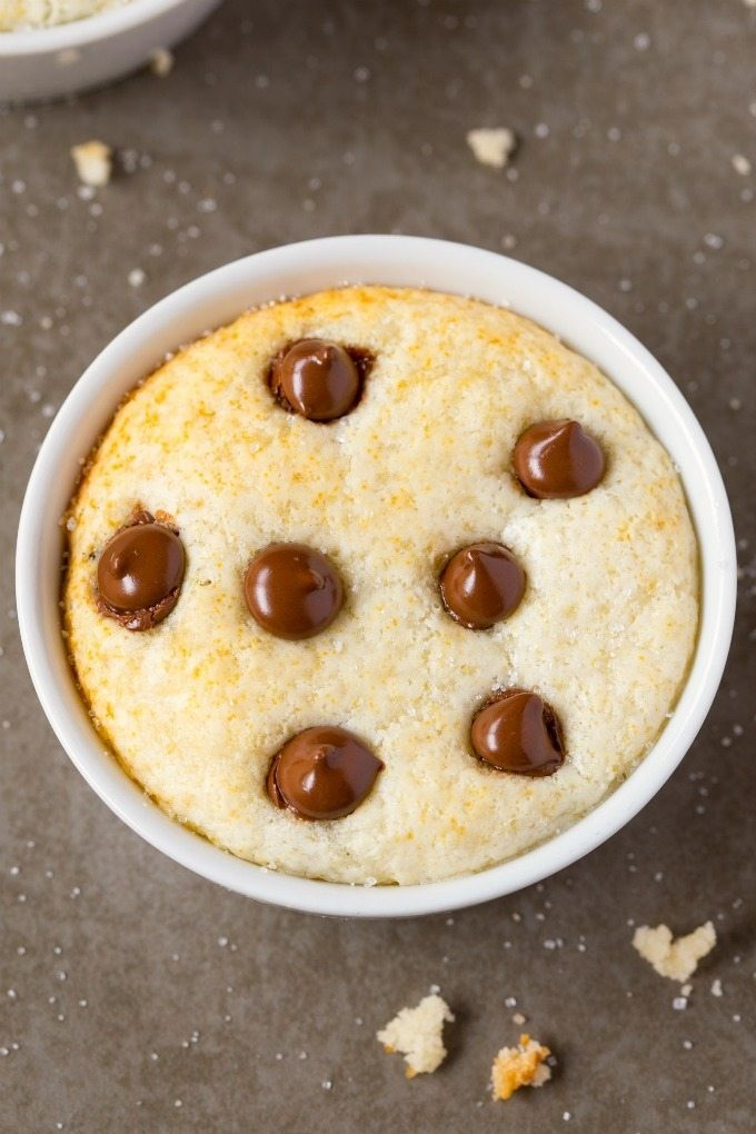Healthy  Minute Low Carb Vanilla Mug Cake