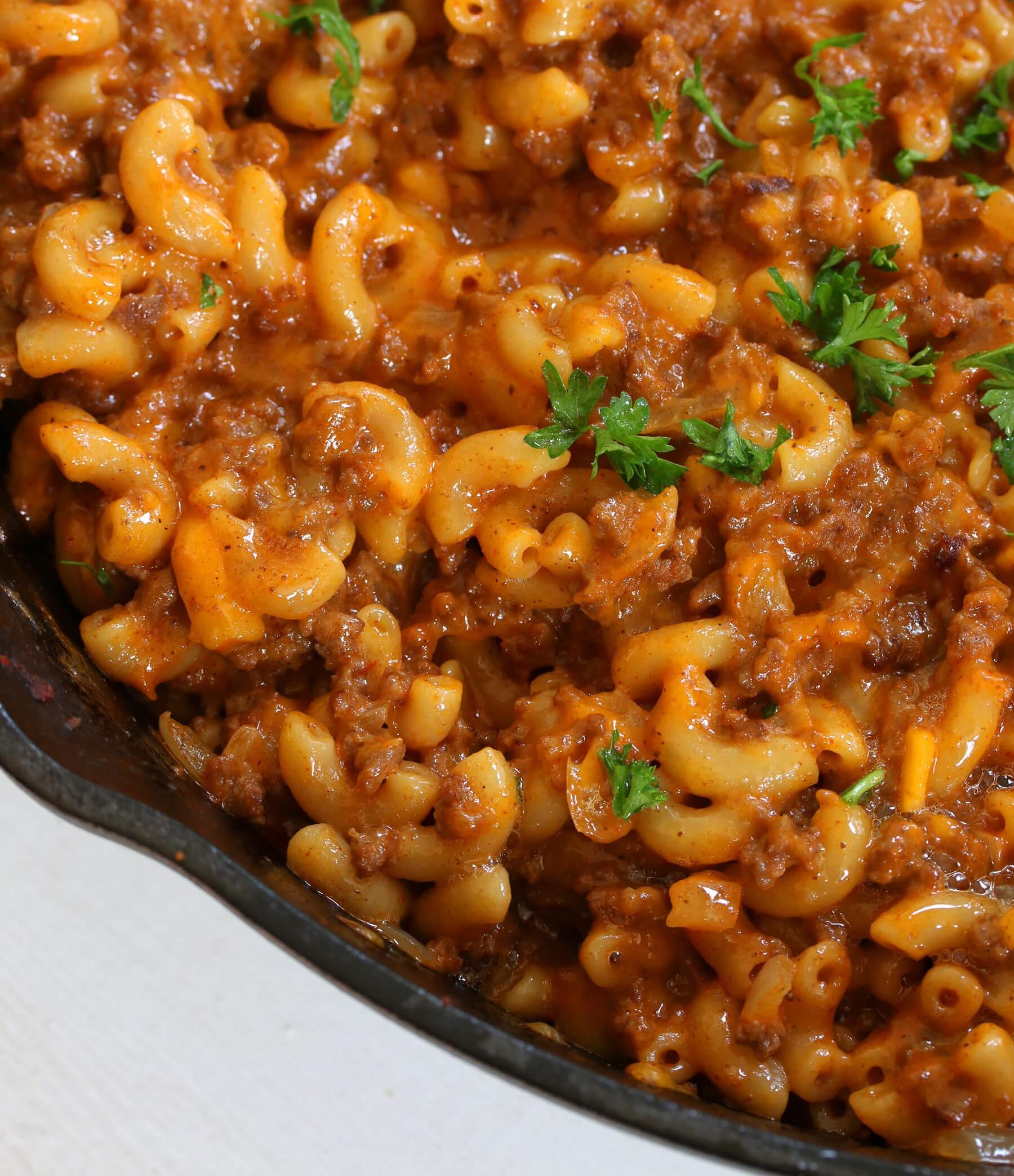 Homemade Hamburger Helper Recipe Skillet Dinner | Russell Haygood | Copy Me That