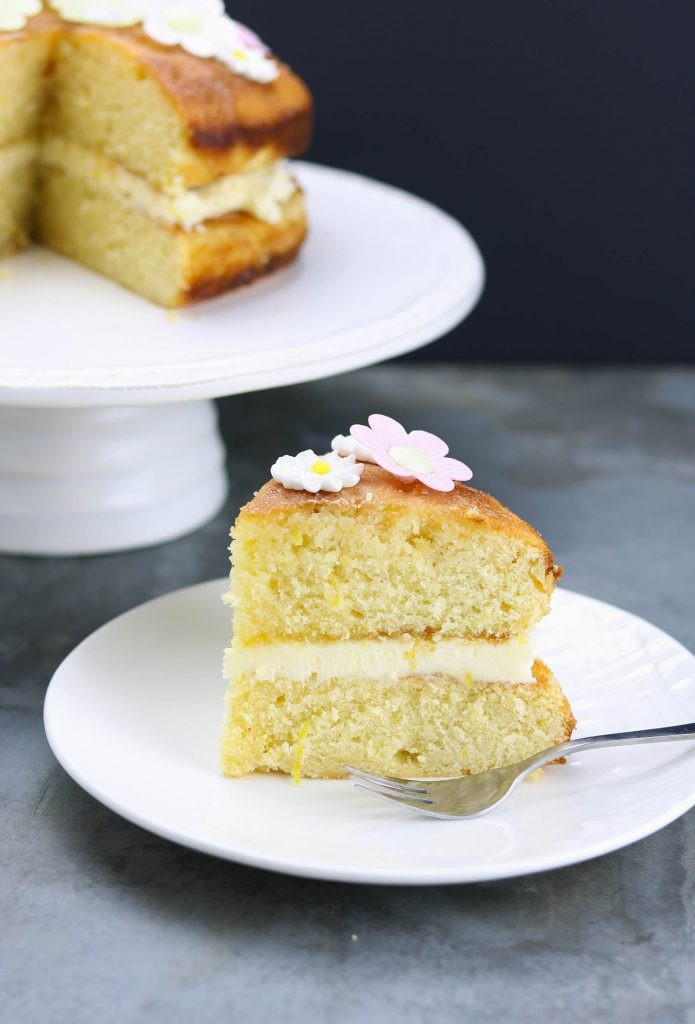 Lemon Drizzle Birthday Cake Sanserif Copy Me That