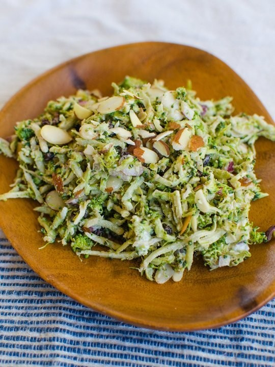 Light U0026 Easy Broccoli Salad U2014 Recipes From The Kitchn | Jurette | Copy Me  That