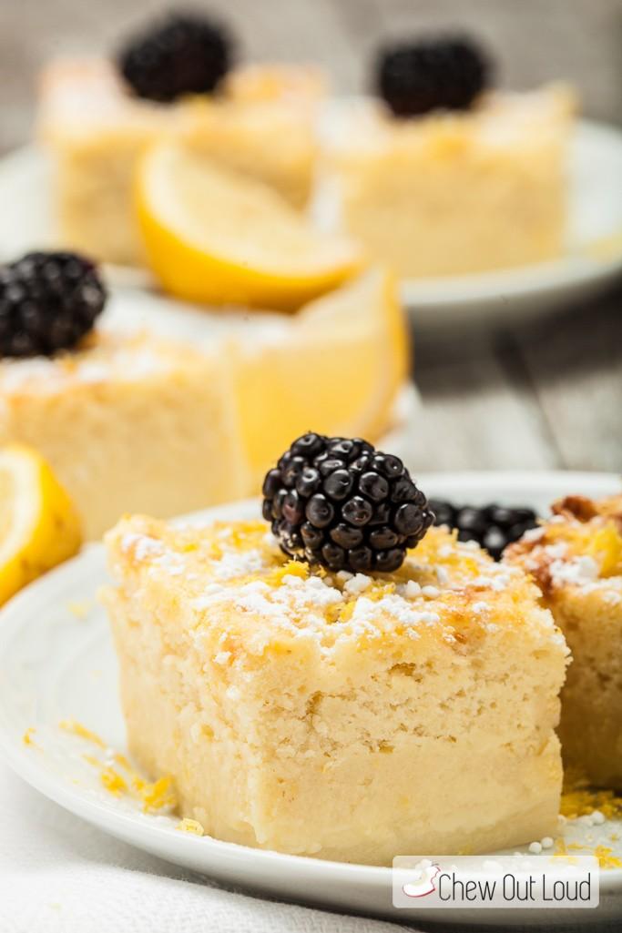 Lemon Magic Custard Cake Recipe