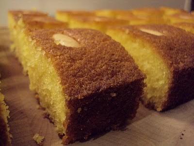 Nigella Lawson Sticky Semolina Cake