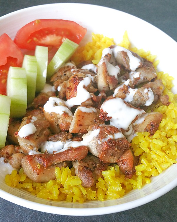 Nyc Halal Cart Chicken Over Rice Copycat Allison Copy Me That