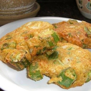 recipe: frozen okra patties [1]