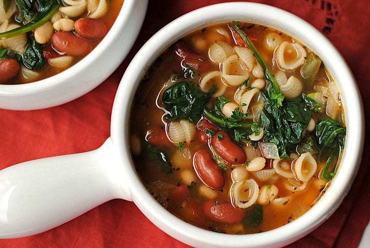 olive garden inspired minestrone soup samantha copy me that - Olive Garden Minestrone