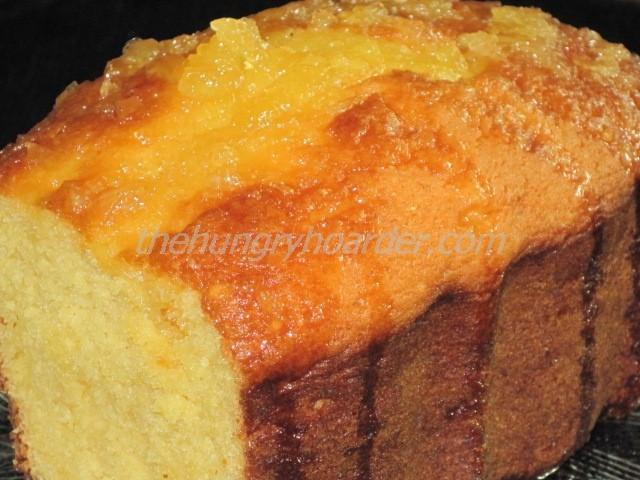Crushed Pineapple Loaf Cake