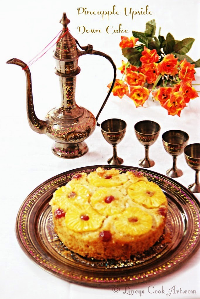 Pineapple Puree Cake Recipe