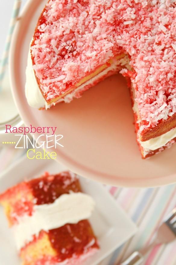 Raspberry Zinger Cake Recipes
