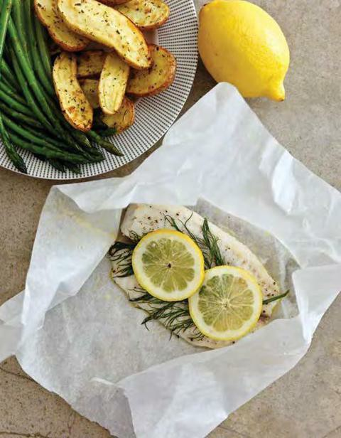 Instant pot lemon and dill fish packets stinkybutt455 for Instant pot fish recipes