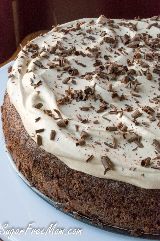 Sugar Free Flourless Chocolate Cake Stevia