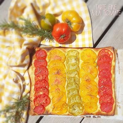 Tarte Fine A La Tomate Et Moutarde Marie Laure Copy Me That