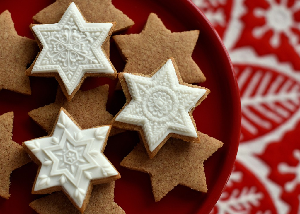 Image result for cinnamon star cookies