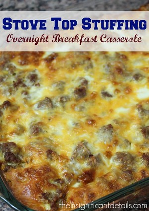 recipe: breakfast casserole with stuffing [7]