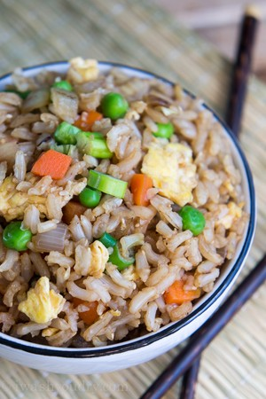 Quick and easy brown fried rice leela42 copy me that ccuart Images