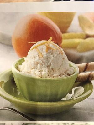 Navel Orange Ice Cream