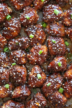Sticky garlic chicken bites shanni copy me that if i grade a recipe with 3 stars or less i delete it from my list unless i have plans to rework it and will publish it later forumfinder Image collections